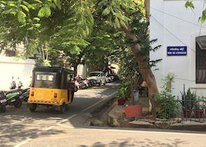 French colony of Pondicherry