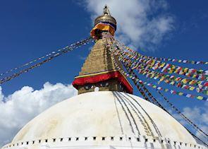 Bodnath Stupa, Kathmandu, Nepal