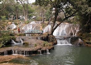Waterfalls around Pai, Thailand