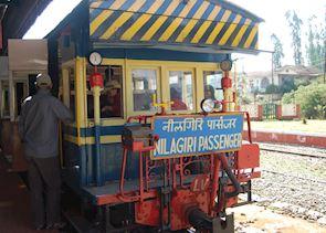 Train, Ooty to Mettupalayam