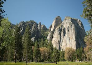 Cathedral Rocks, Yosemite National Park
