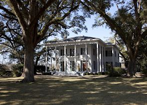The Bragg-Mitchell Mansion near Mobile