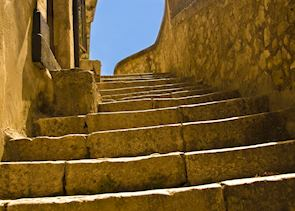 Staircase in Ragusa, Sicily