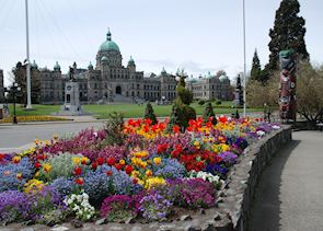 Parliament Buildings, Victoria, British Columbia