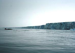Ice Cliff on Nordaustlandet, Svalbard