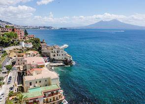 View of Vesuvious, Naples