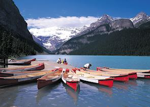 Canoes, Lake Louise