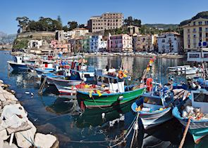 Boats Docked, Sorrento