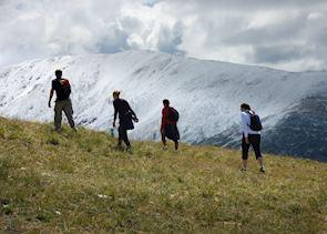Hiking near Breckenridge, Colorado