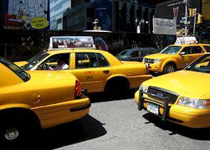 Yellow Cabs, New York City