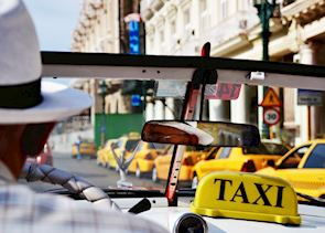 A taxi ride through Havana