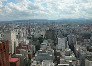 View of Sapporo