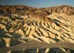 Sunrise at Zabriskie Point, Death Valley National Park