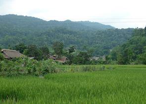 Local village, Hoang Su Phi, Vietnam