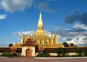 Wat That Luang, Vientiane, Laos