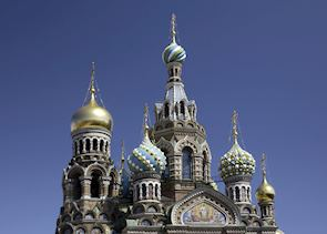 Church of the Saviour on Split Blood, St Petersburg, Russia