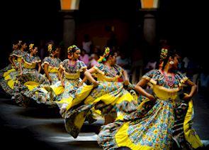 Pueblan Dancers, Mexico