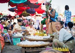 Railway market, Mandalay