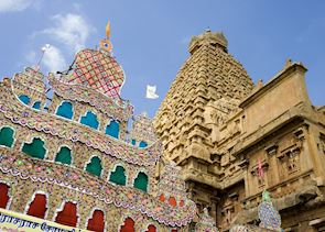 Temples at Tanjore, India