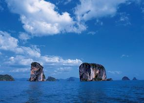 Vistas out to sea from Koh Yao Island, Thailand