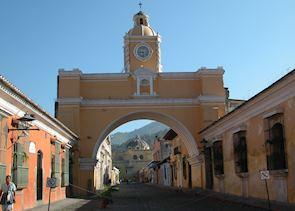Colourful Streets of Antigua