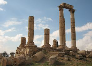 Temple of Hercules at the Citadel, Amman