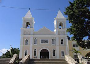 Colonial church, San Jose del Cabo, Mexico