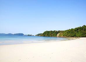 Beach on the Mergui Archipelago