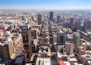 The inner city of Johannesburg
