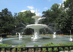 Fountain at Forsyth Park, Savannah