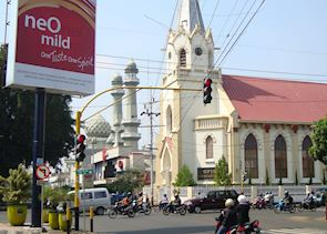 Christianity meets Islam in Malang