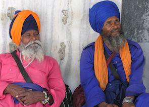 Sikh Gentlemen, Delhi