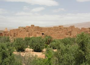 Old Kasbah in the South of Morocco