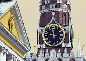 Kremlin Clock Tower, Moscow
