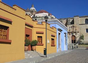 Colourful streets of Oaxaca