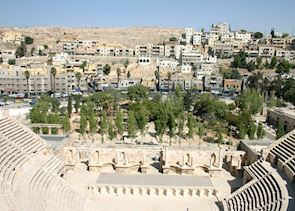 The Roman theatre, Amman