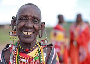 Maasai elder, Masai Mara