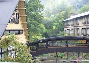 Kurokawa river and bridge