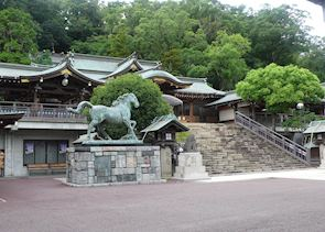 Shrine grounds, Nagasaki
