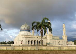 Floating Mosque, Kota Kinabalu, Borneo