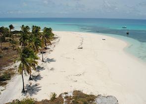Fanjove Island beaches, Songo Songo Archipelago