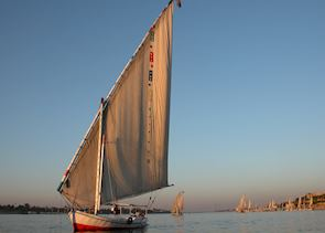 Felucca on the Nile, Luxor