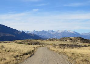 Scenery on the road to Parque Patagonia, Aisen
