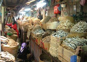 Surabaya market, Java