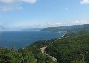 The Cape Breton Trail at Ingonish