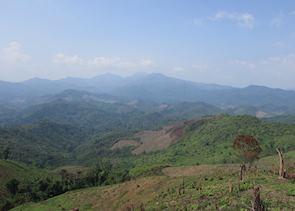 Valley views of Muang La