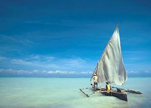 Fishing dhow, Zanzibar