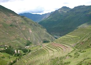 Pisac terraces, Sacred Valley of the Incas