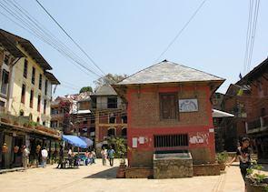 Main street, Bandipur, Nepal