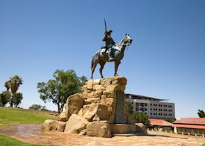 The Equestrian statue, Windhoek